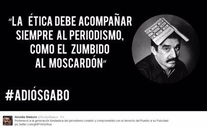"""Maduro: """"Gabo dejó grabada su huella espiritual en la nueva era de nuestra América"""""""