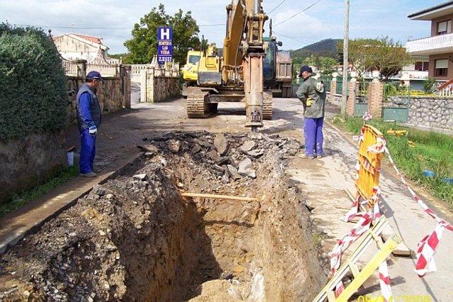 Obras De Canalización, Abastecimiento Agua