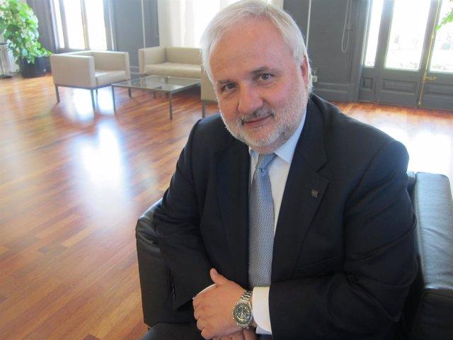 Josep Anton Planell, rector de la UOC
