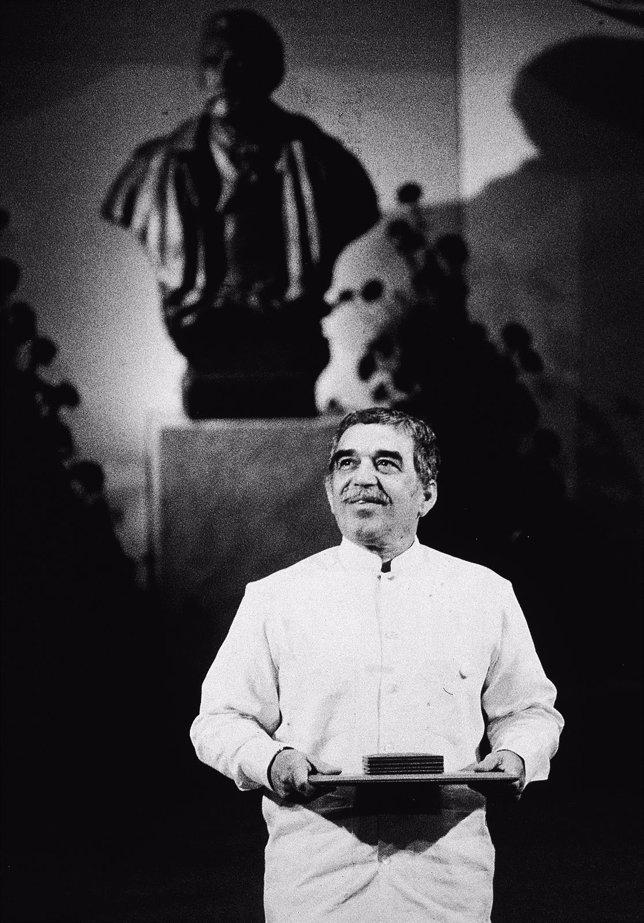 García Márquez recibe el Premio Nobel de Literatura 1982