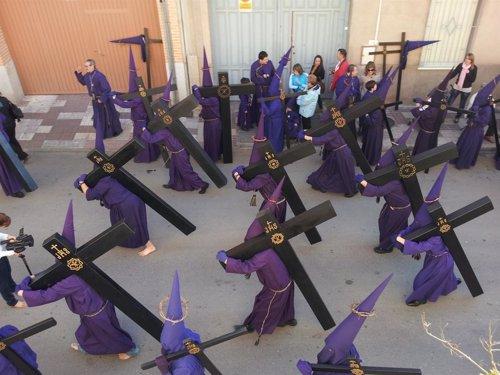 Semana Santa Daimiel, procesión, procesiones, capuchones