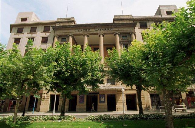 Teatro Gayarre de Pamplona.