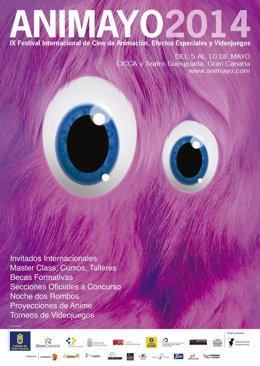 Cartel del festival Animayo 2014