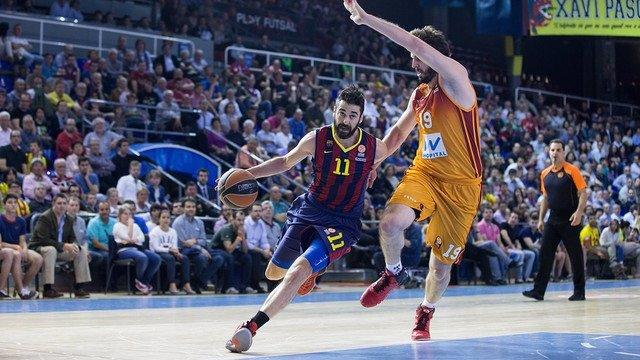 Juan Carlos Navarro en el FC Barcelona - Galatasaray