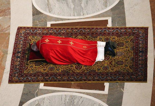 El Papa Francisco en los oficios de Semana Santa