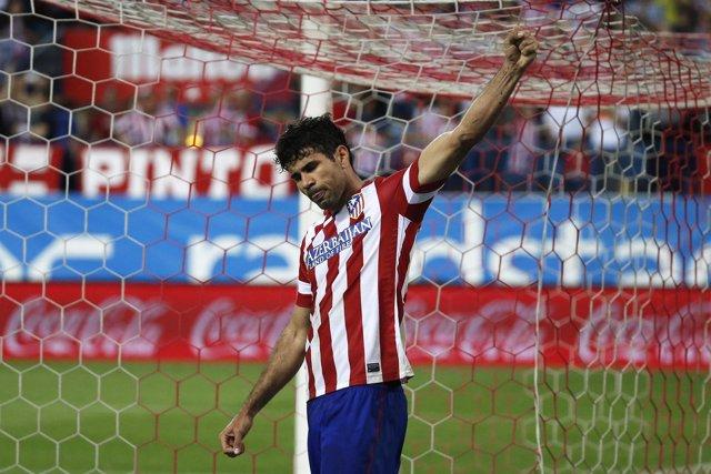Diego Costa, delantero del Atlético de Madrid