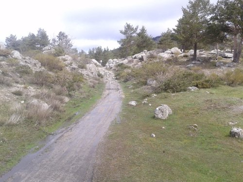 Antiguo camino entre Al-Ándalus y el norte de España