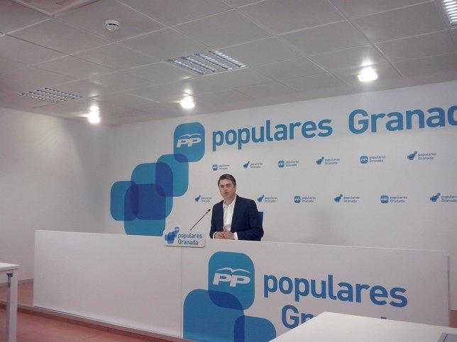 El portavoz del Grupo Parlamentario Popular, Carlos Rojas.