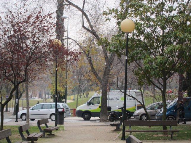 Parques y jardines de Zaragoza.