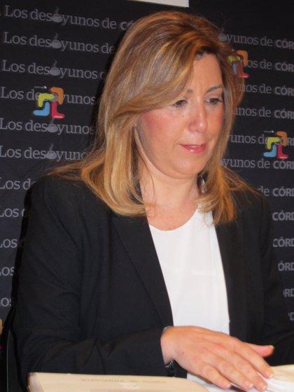 """Susana Díaz: """"Si alguien actuó mal lo va a pagar"""""""