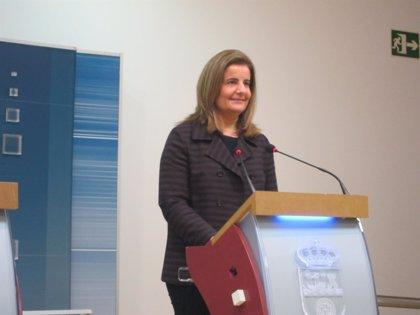 """Báñez pide """"colaboración"""" a todas las administraciones para """"esclarecer"""" el """"fraude"""" en cursos de formación"""