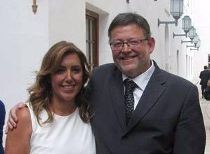 Puig (PSPV) visita Andalucía en busca de alianzas que garanticen un nuevo modelo de financiación