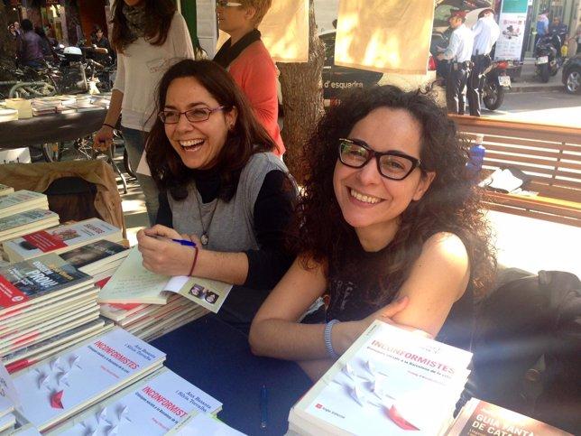 Las escritoras Silvia Torralba y Anna Basanta