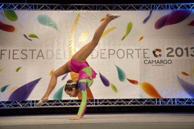 Gimnasia rítmica y deporte en Camargo