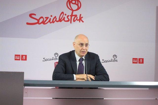 El secretario de Organización del PSE-EE, Rodolfo Ares