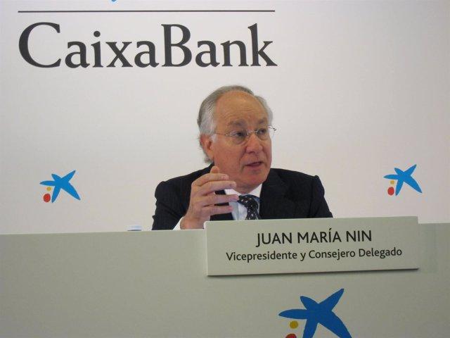 Joan Maria Nin, CaixaBank