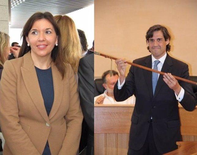 Mercedes Alonso y Lorenzo Agustí en imágenes de archivo