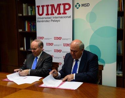 La UIMP y MSD crearán una cátedra de salud, crecimiento y sostenibilidad