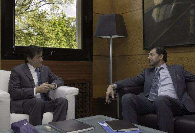 Javier Fernández y Pedro Luis Fernández