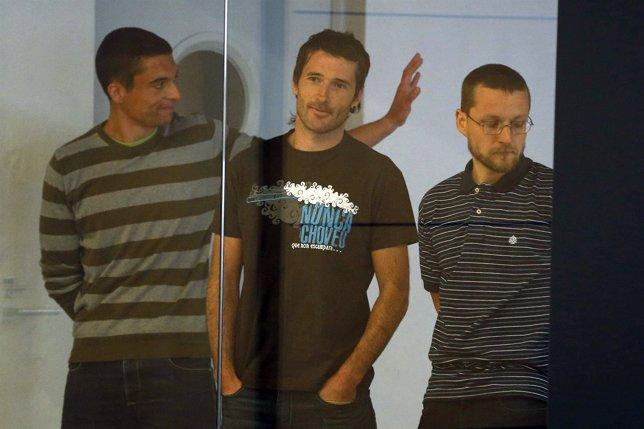 Juicio a cuatro presuntos miembros de Resistencia Galega