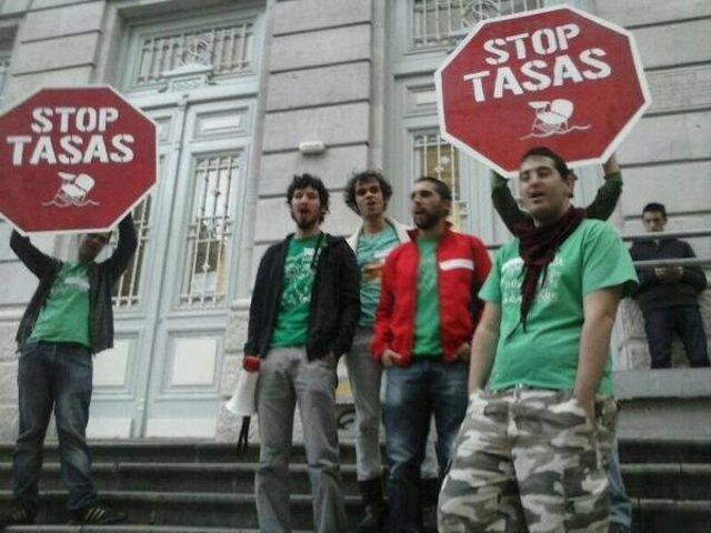 Huelga en la enseñanza