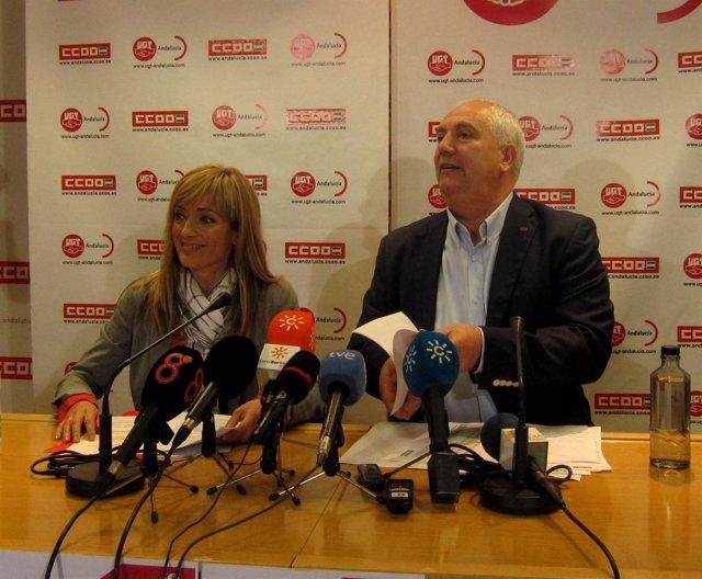 Carmen Castilla y Francisco Carbonero, este jueves