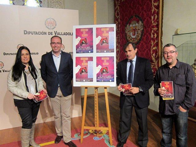 Presentación del certamen nacional de magia 'Ilusionat' de Cigales