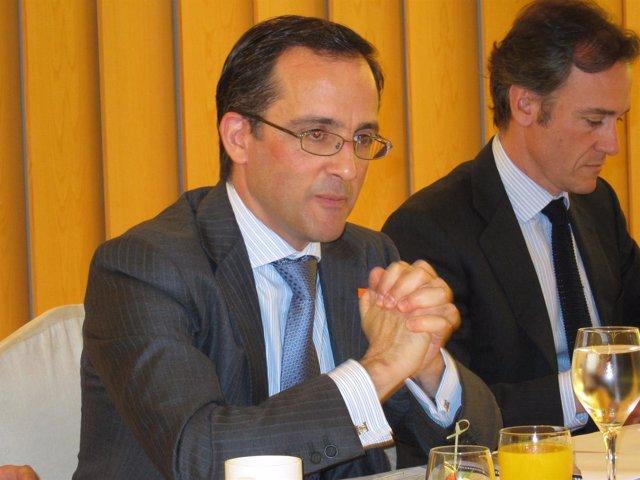 El director de la unidad de Residencial de Orange España, Samuel Muñoz