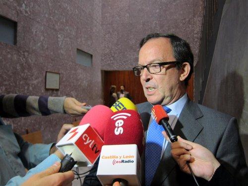 Carlos Teresa, tras comparecer ante el juez de Instrucción 1.