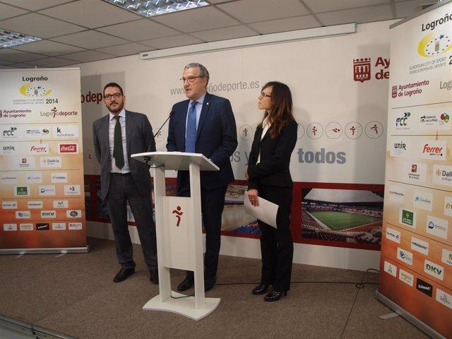 Voluntarios La Caixa colaborarán con Logroño Ciudad Europea del Deporte