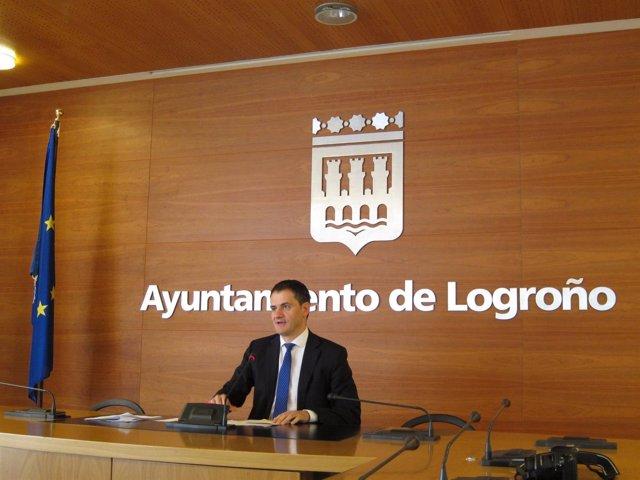 Miguel Sáinz portavoz del Gobierno riojano