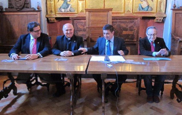 Presentación del ciclo de conferencias sobre la Catedral de Jaén