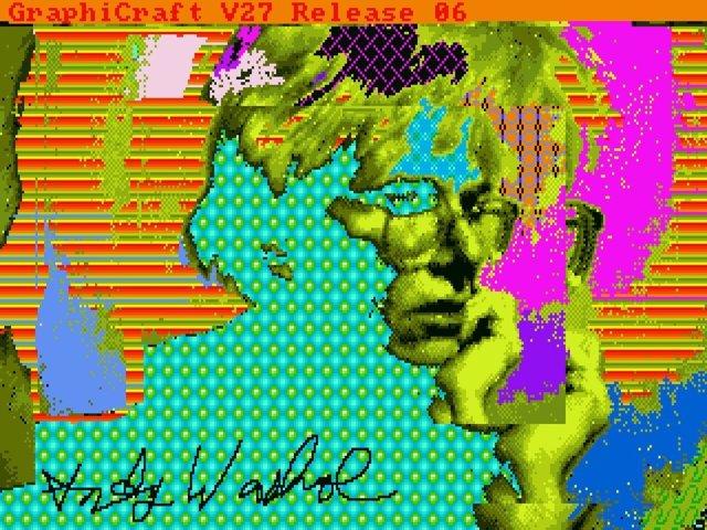 Andy Warhol, Amiga 1000