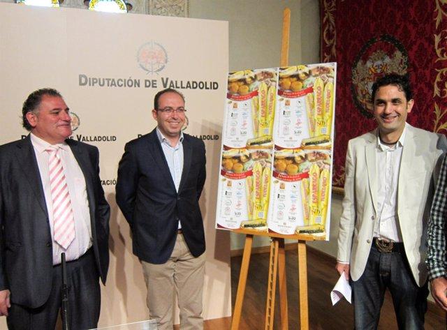 Presentación de XVII jornadas de Espárrago de Tudela de Duero