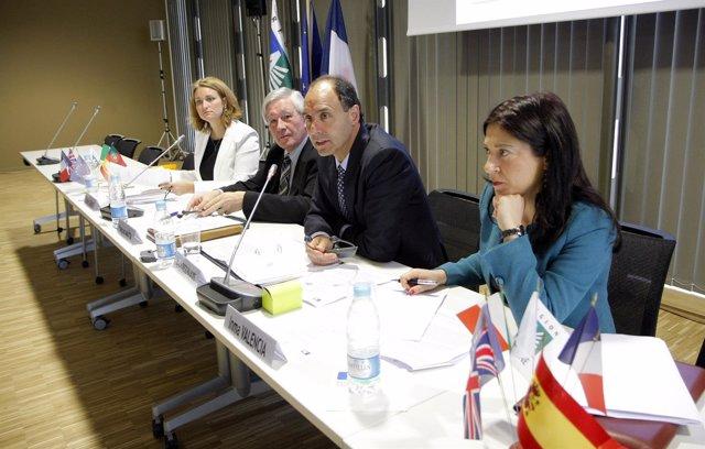 Diego en la asamblea de la Comisión del Arco Atlántico