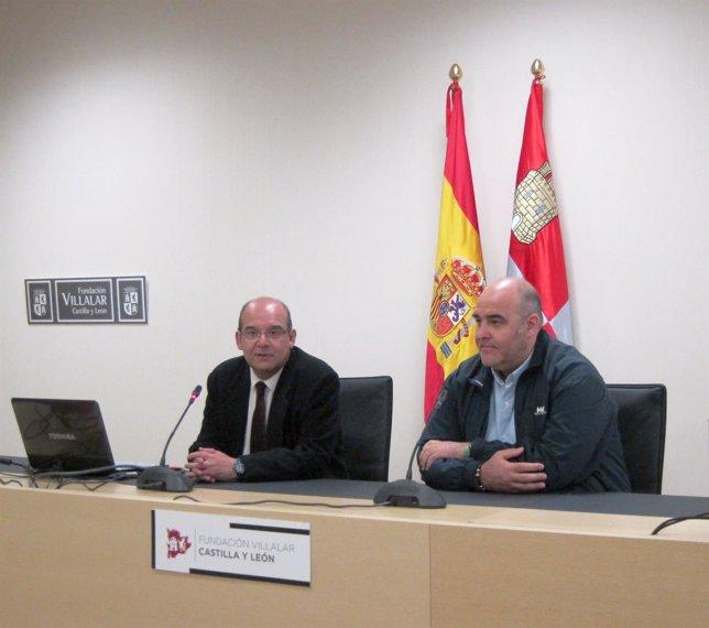 Antonio Calonge (I) junto a Eduardo Margareto (D)