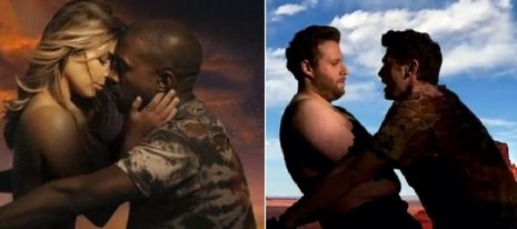 Kanye West Quiere A James FRANCO Y SETH ROGERS EN SU BODA