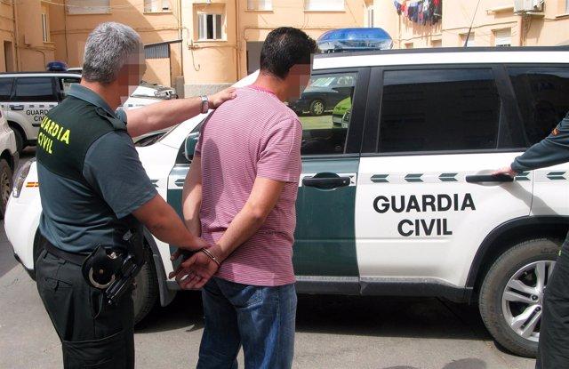 La Guardia Civil desmantela una organización criminal asentada en Águilas