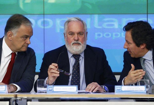 Cañete, Floriano y González Pons