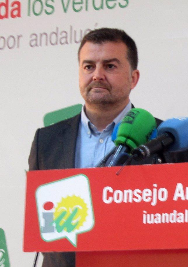 Coordinador general de ULV-CA, Antonio Maíllo