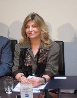 La secretaria de Estado de Empleo, Engracia Hidalgo, en Sevilla