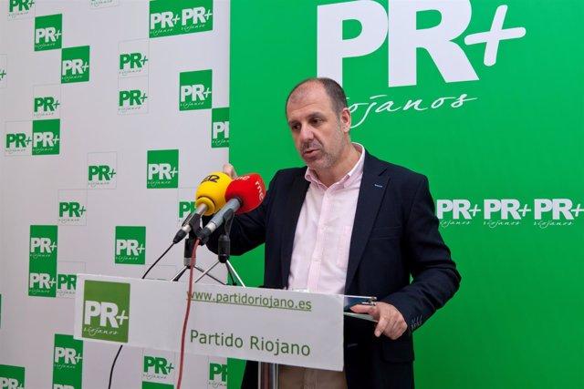 El presidente del PR, Miguel González de Legarra