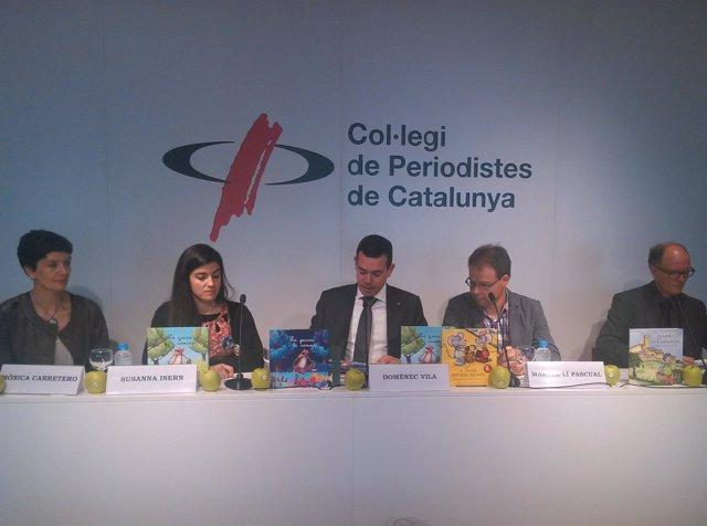 Presentación del libro sobre alimentos catalanes 'La guineu i la camosa'