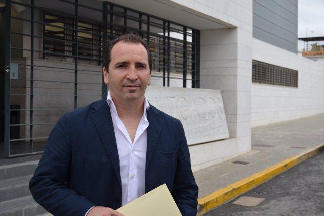 El alcalde de Almonte (Huelva), José Antonio Domínguez.