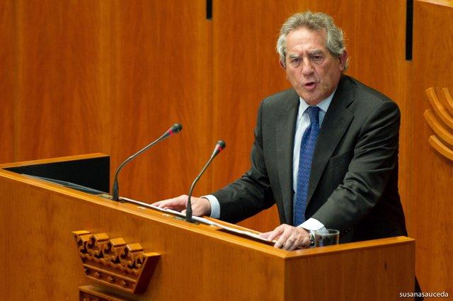 Antonio Fernández en el pleno