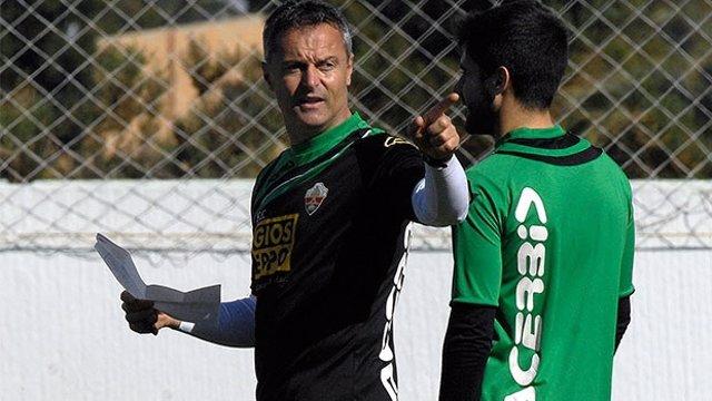 Fran Escribá, entrenador del Elche