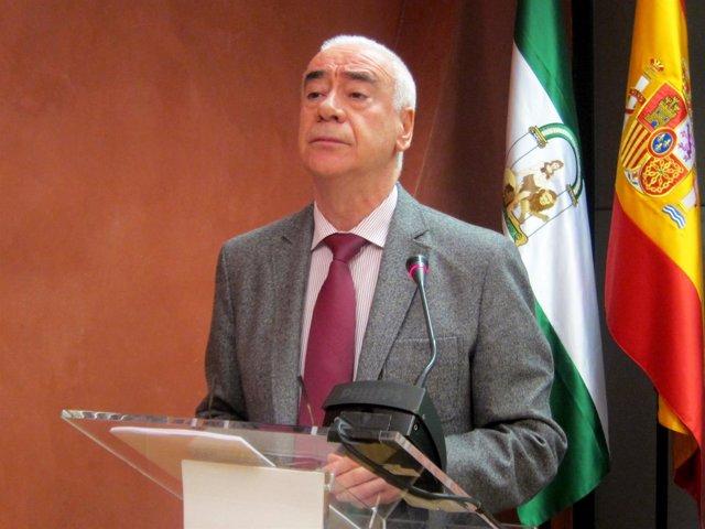 El consejero andaluz de Educación, Cultura y Deporte, Luciano Alonso