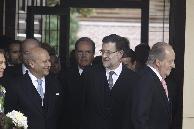 Rajoy, Wert y el Rey en el Premio Cervantes