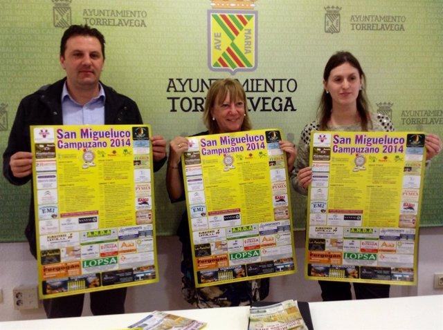 Presentación de las fiestas de San Migueluco en Campuzano