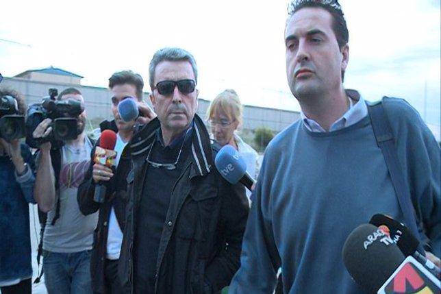 Ortega Cano ingresa en la prisión de Zaragoza